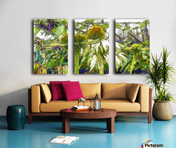 Heads Above the Others Split Canvas print