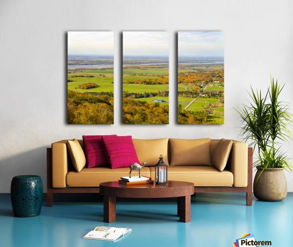 View of Ottawa Valley in Autumn17 Split Canvas print