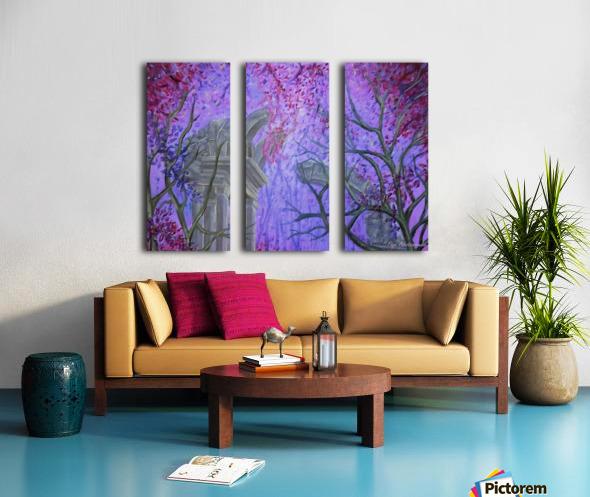Devine Light Split Canvas print