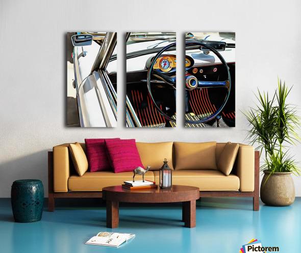 Autobianchi Bianchina Through The Window Split Canvas print