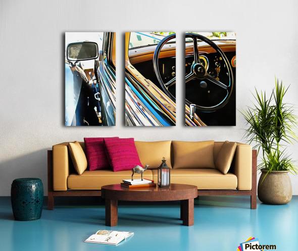Fiat 508 Balila Through the Window Split Canvas print