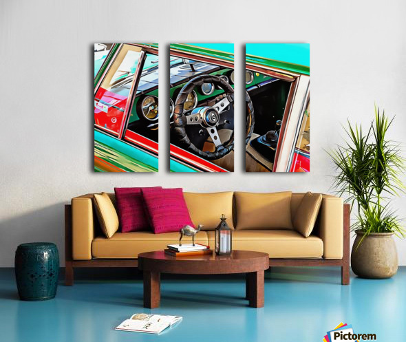 Innocenti Through the Window Split Canvas print