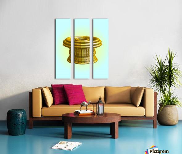 op basket 5.27b1H 18 Split Canvas print