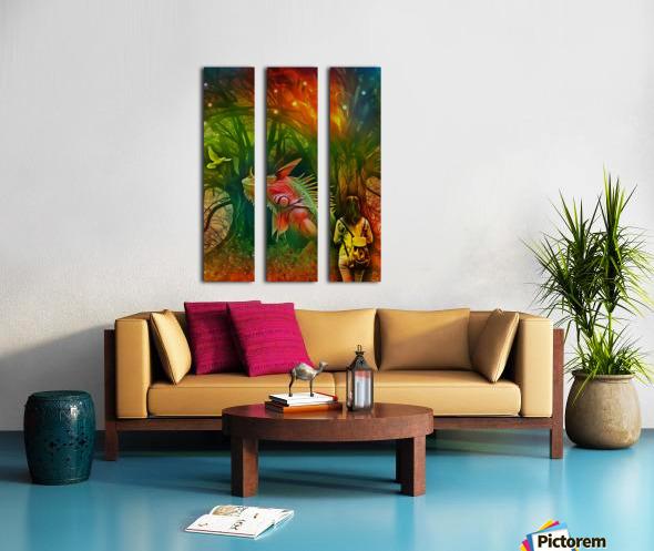 Keeper of the Tree 2 Split Canvas print
