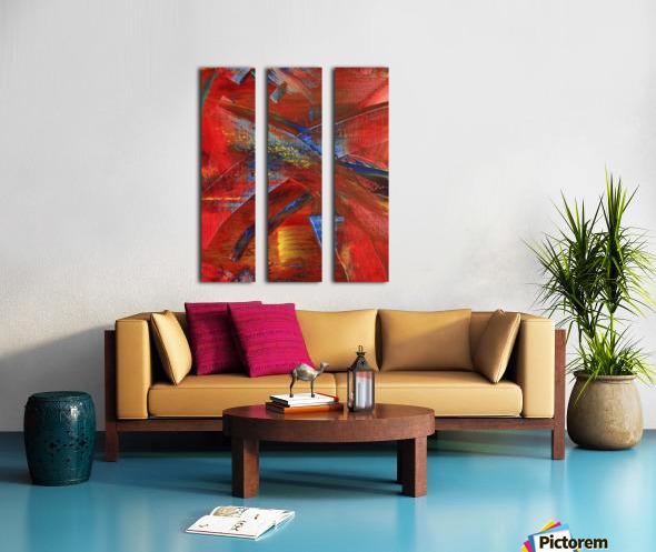 ELECTRIC GUITAR Split Canvas print