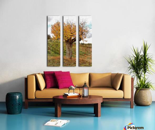 The Autumn Guardian Split Canvas print