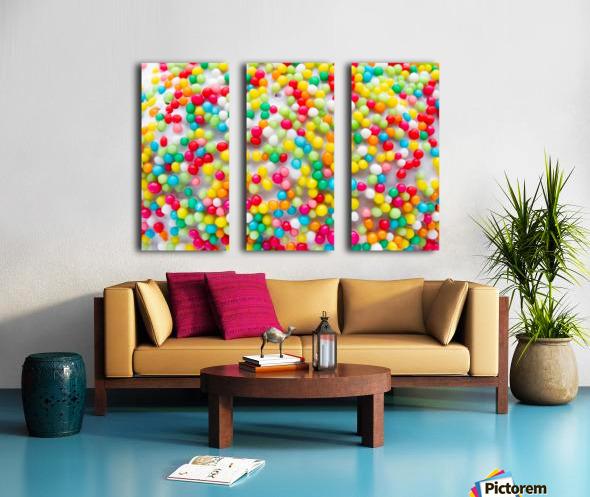 Colors of rainbow Split Canvas print