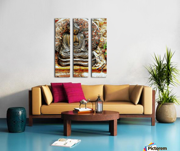 Safe Place for a Snooze Split Canvas print