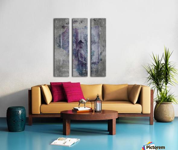 Medicine Buddha Split Canvas print