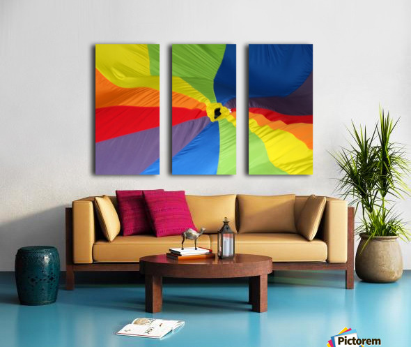 Material Split Canvas print