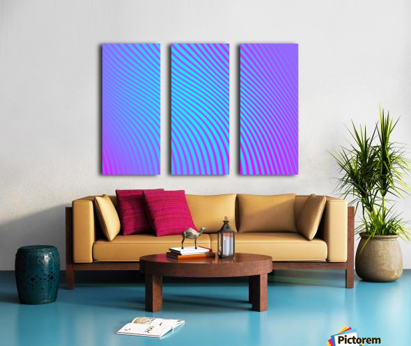 Abstract  Split Canvas print