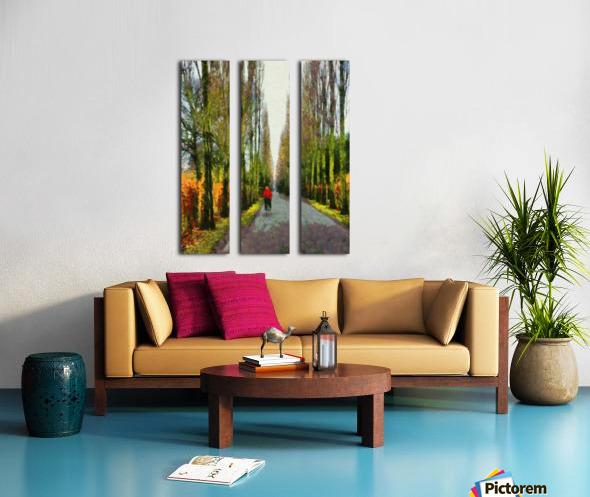 Cemetry Road Split Canvas print