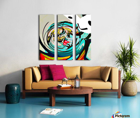 metamorphosis 2 Split Canvas print