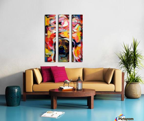 Dog Painting (10) Split Canvas print