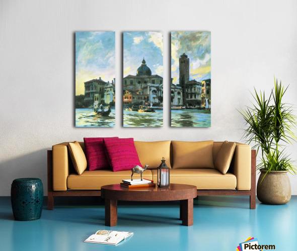 Palazzo Labia, Venice by John Singer Sargent Split Canvas print