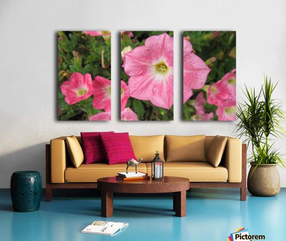 Flowers (86) Split Canvas print