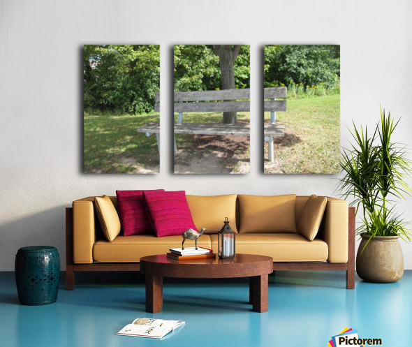 Bench (10) Split Canvas print