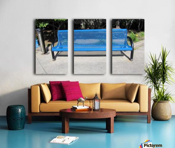Bench (64) Split Canvas print