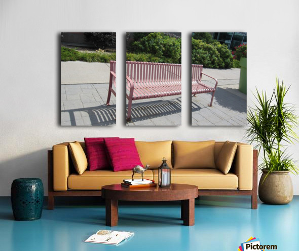 Bench (50) Split Canvas print