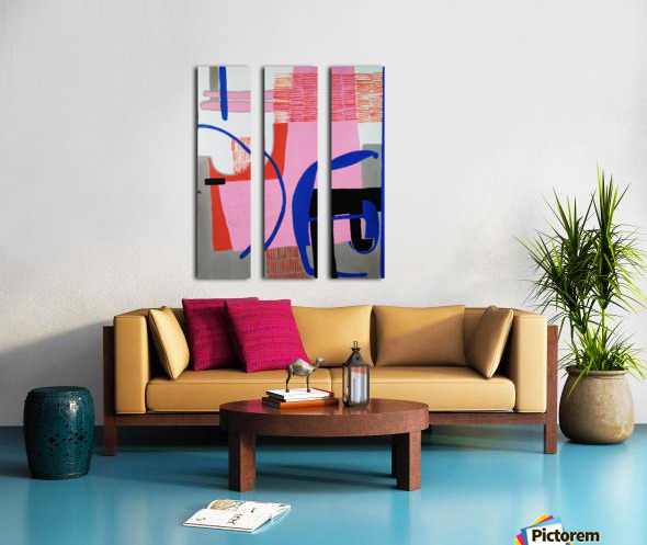 оооо Split Canvas print