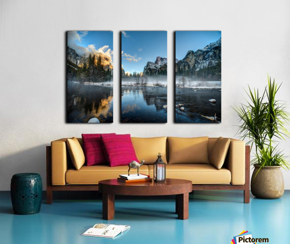 Yosemite Split Canvas print