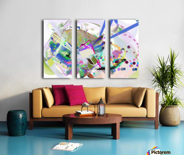 New Popular Beautiful Patterns Cool Design Best Abstract Art (4) Split Canvas print