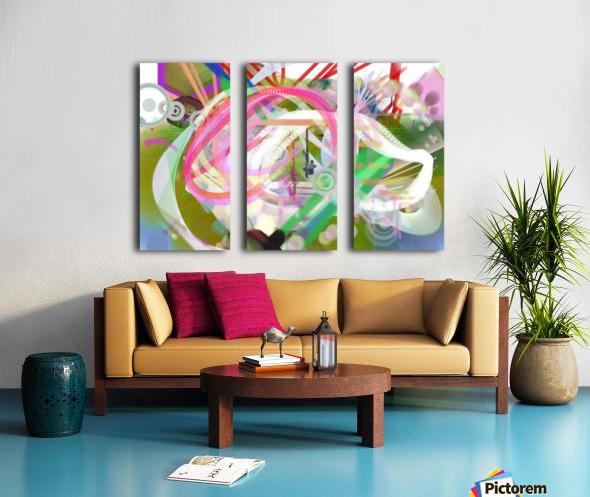 New Popular Beautiful Patterns Cool Design Best Abstract Art (3) Split Canvas print