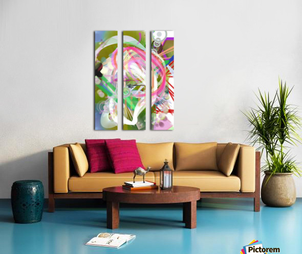 New Popular Beautiful Patterns Cool Design Best Abstract Art (3)_1557269361.91 Split Canvas print