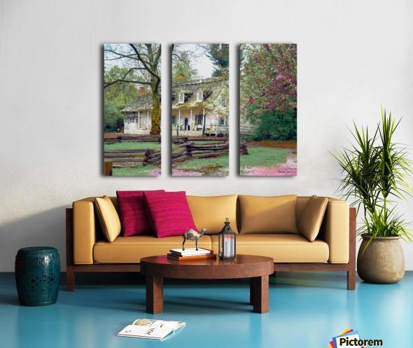 Prospect park Brooklyn Split Canvas print