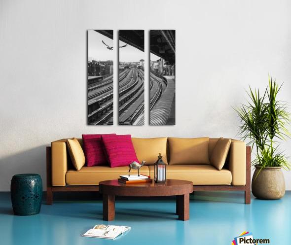 Station de métro - Brooklyn Split Canvas print