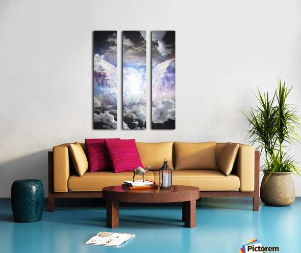 Angel of Light Split Canvas print