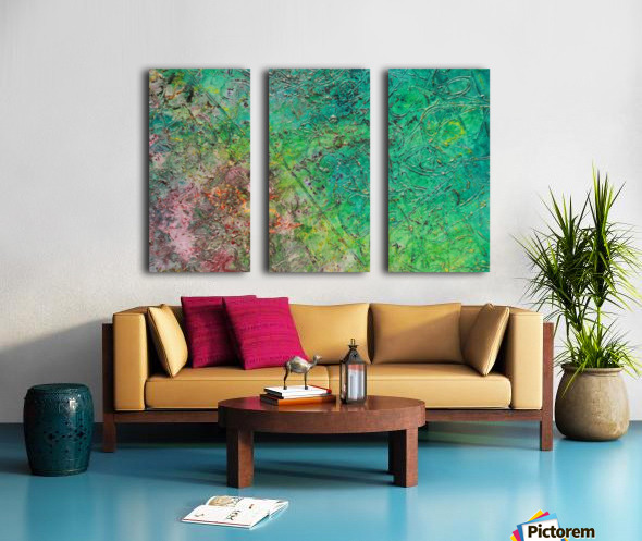 44 Split Canvas print