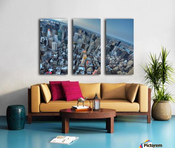 New York Split Canvas print
