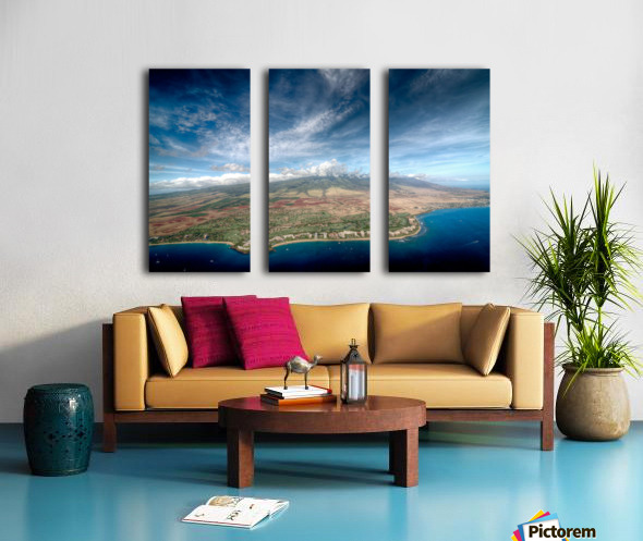 Maui Split Canvas print