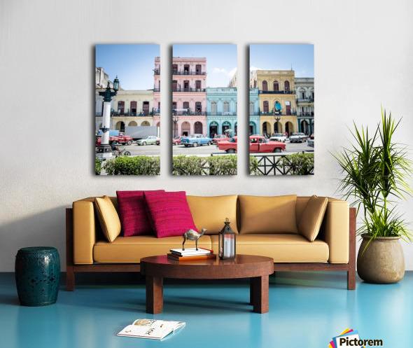 Cuba Split Canvas print