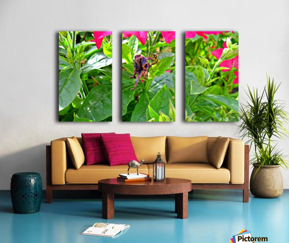 Bee (3) Split Canvas print