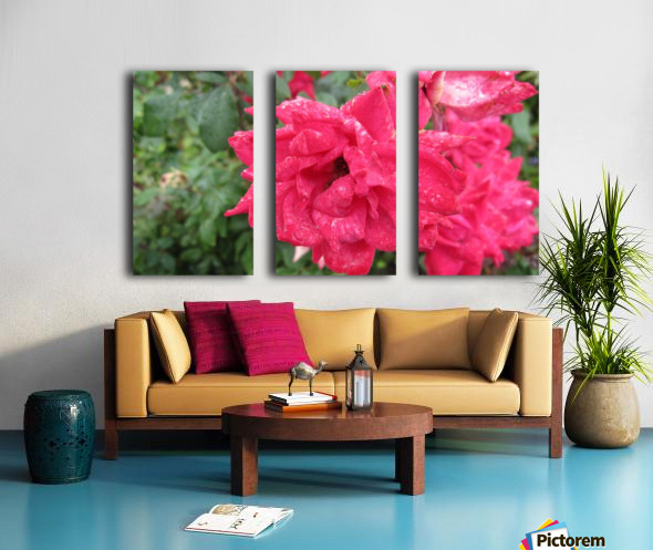 Flower (9) Split Canvas print