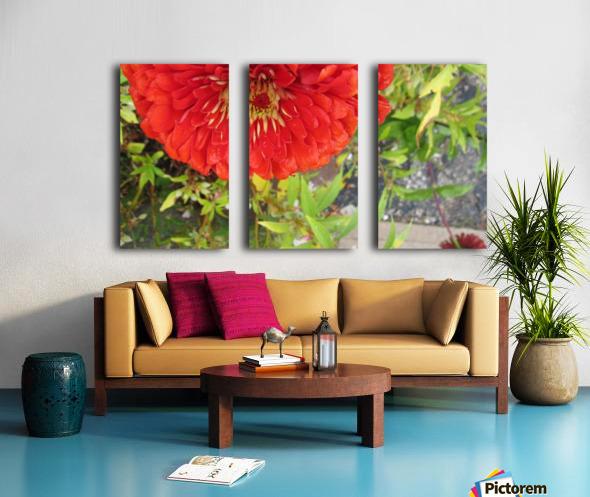 Flower (7) Split Canvas print