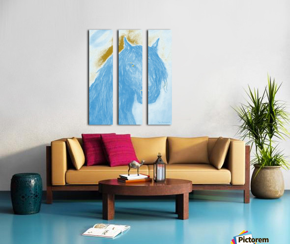 Horse Spirit Split Canvas print