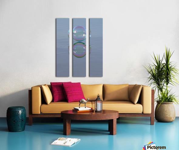 bubble Split Canvas print