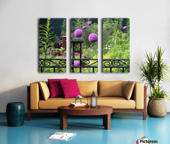 In the Garden 2018 Split Canvas print