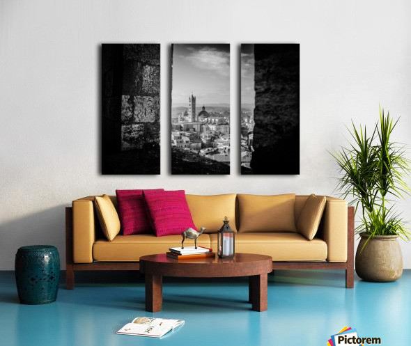 Bnw Siena Tower Split Canvas print