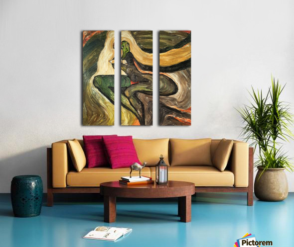 Seduction Split Canvas print
