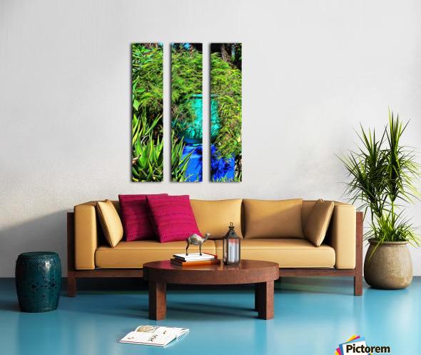 Colorful Plant Pots Marrakech 4 Split Canvas print