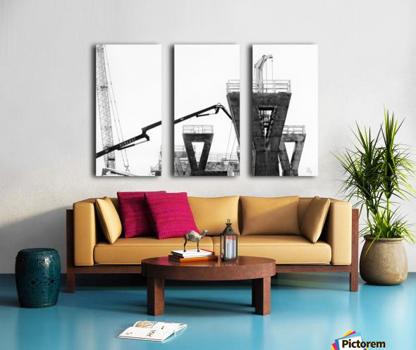 Magpie Heavy... Split Canvas print