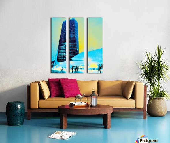 Tower Split Canvas print