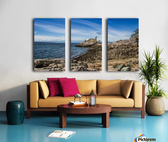 Lund  Split Canvas print