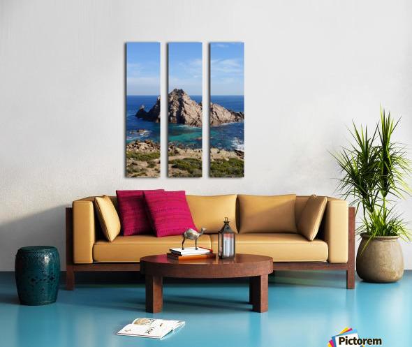 Sugarloaf Rock Split Canvas print