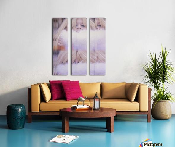 Brigitte Split Canvas print