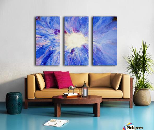 Inner Light Split Canvas print